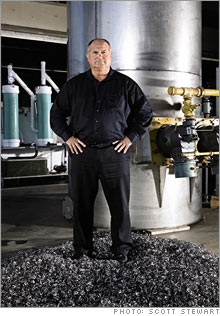Tom Kiser and his Liquid Chimney