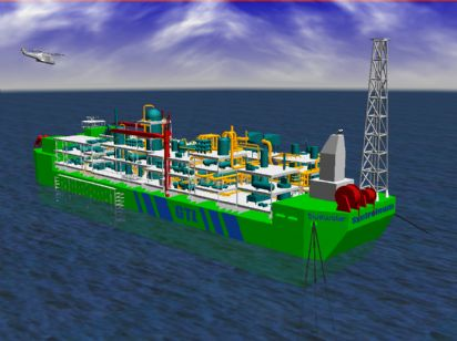 The Energy Blog: Floating Gas-to-Liquids Plants Proposed
